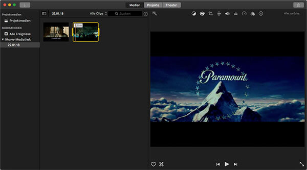 videos in imovie bearbeiten mac