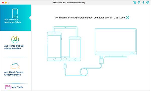 Wie Kann Man Geloschte Oder Verlorene Iphone 5s Daten Wiederherstellen Auf Dem Mac